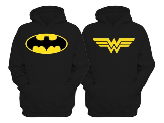 Sudaderas Pareja Batman Mujer Maravilla Envio Gratis