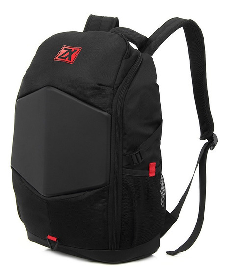 Mochila Gamer Zom Zb X 549 Notebook 17 Gaming + Funda Lluvia