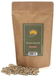 Yirgacheffe Etíope Verde Granos De Café Sin Tostar 1 Libra!