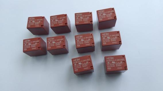 Rele 875b 1ch F V U03 24v Dc 10 Pçs