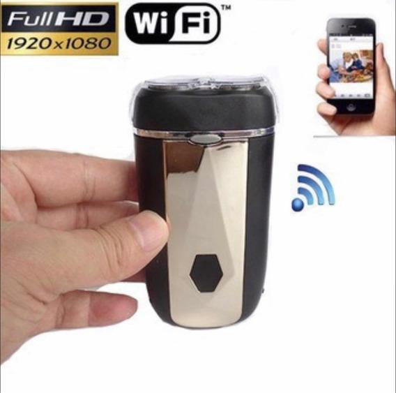 Barbeador Micro Câmera Espião Spy Wifi Usb Monitoramento