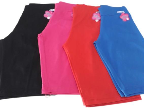 Bermuda Shorts Feminino Plus Size Atacado Kit C/4 Revenda