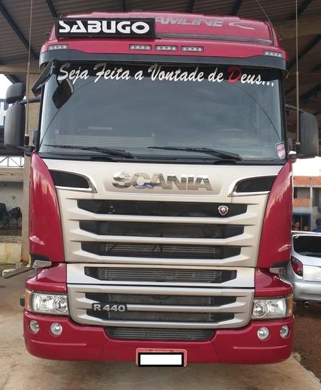 Scania Streamline 440 - 2015 - 6x2 - Ótimo Estado Único Dono
