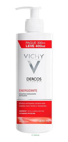 Imagem 1 de 8 de Vichy Dercos Shampoo Energizante 400ml