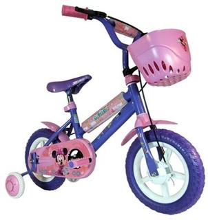Bicicleta Rod 12 Minnie Disney Rodado 12 Unibike 3021
