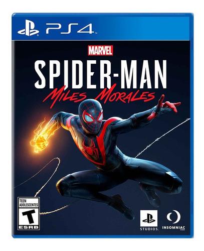 Spider Man Miles Morales - Ps4 / Mipowerdestiny