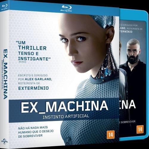 Blu-ray Ex Machina - Instinto Artificial - (luva)