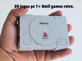 Playstation 1 Mini Com 8 Mil Jogos + N64 + Snes + Megadrive.