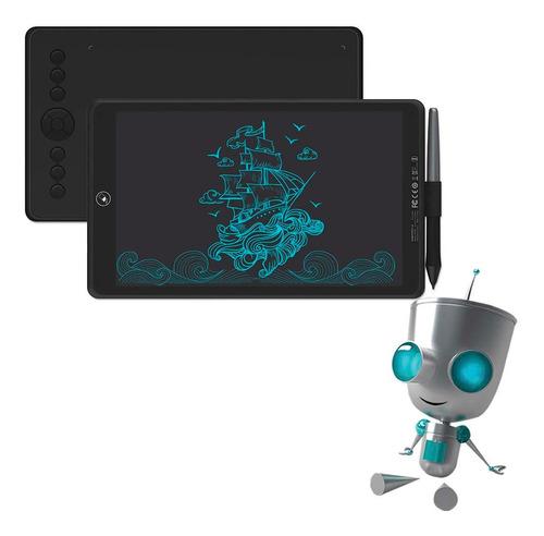 Imagen 1 de 7 de Tableta Gráfica De Dibujo Con Lápiz Capacitivo Doble Uso