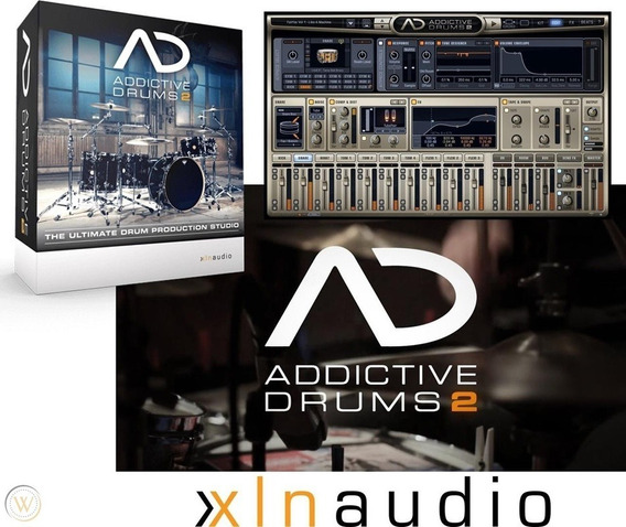 Xln Audio - Addictive Drums 2 V2.1.9 Completo - 35 Kits Mac