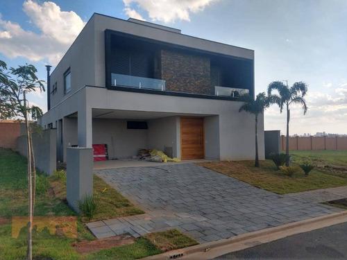 Imagem 1 de 30 de Casa Com 5 Suítes À Venda, 400 M² Por R$ 2.850.000 - Alphaville Dom Pedro Ii - Campinas/sp - Ca2451
