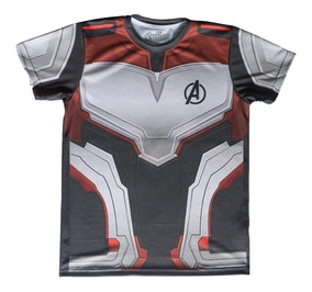 Playera Avengers Quantum Suit Traj Cuantico Máscara De Latex