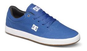 Tênis Dc Shoes Crisis Original Skate Hip Hop Superstar Azul