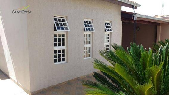 Casa Residencial Para Locação, Jardim Suécia, Mogi Guaçu. - Ca0958