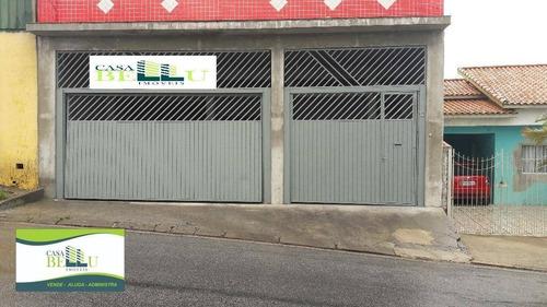Imagem 1 de 7 de Salão Comercial Para Locação, Parque Vitória, Franco Da Rocha. - Sl0008