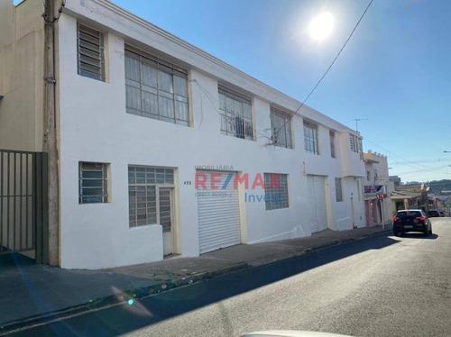 Galpão Para Alugar, 600 M² Por R$ 7.500,00/mês - Centro - Botucatu/sp - Ga0047