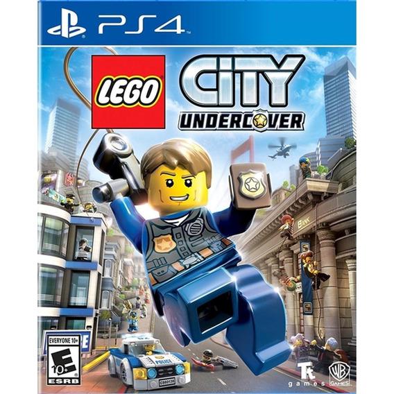 Lego City Undercover - Ps4 Lacrado