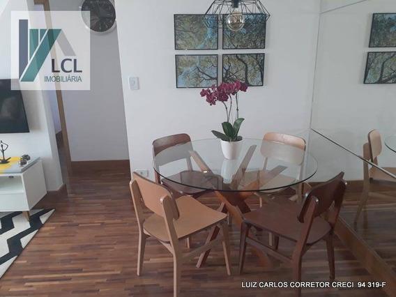Apartamento Com 2 Dormitórios À Venda, 54 M² Por R$ 274.000,00 - Granja Viana - Cotia/sp - Ap0025