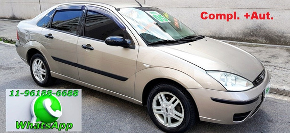 Ford Focus Sedan 2.0 Glx Aut. 2005 Novo !!
