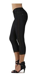 Prolificos Pantalones De Adelgazamiento De La Mujer Jean Loo