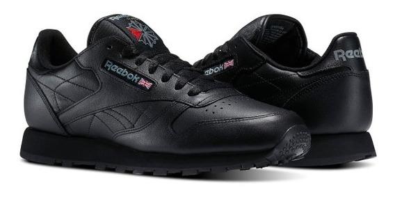 Tenis Reebok Classic Leather Negro
