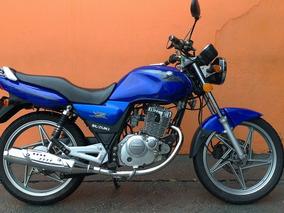 Suzuki En 125 Yes 2007 - Azul - Baixo Km