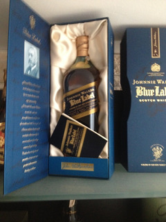 Whisky Etiqueta Azul
