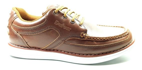 Zapatos Dufour Urbanos Acordonado Hombre Super Livianos N-39