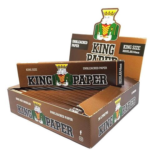 Caixa Seda King Paper Brown Marrom Grande King Size Barato