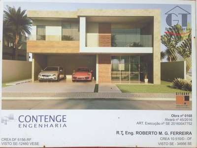 Maravilhosa Casa Em Construção No Alphaville Sergipe - Ca0285