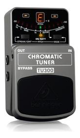 Pedal Afinador Cromático Behringer Tu300 Para Guitarra Baixo