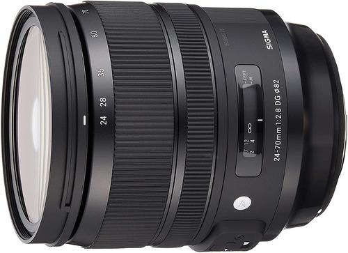 Lente Sigma Dg 24-70mm F/2.8 Os Hsm Art Para Nikon