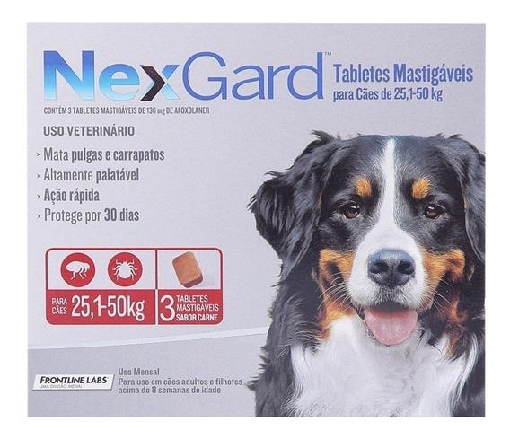 Nexgard 3 Comprimidos Oferta Del Mes De 25 - 50 Kg Pethome