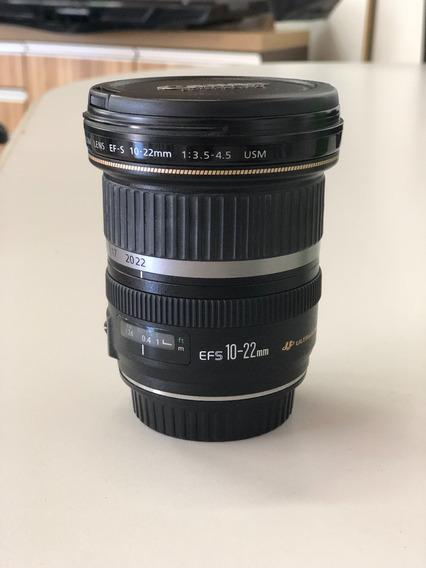 Lente Canon Ef-s 10-22mm F3.5-4.5
