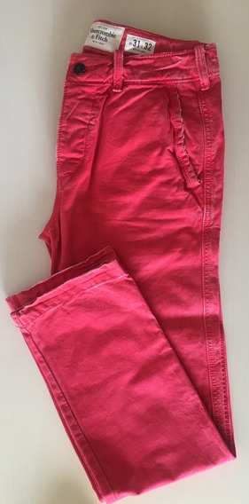 Pantalón Abercrombie & Fitch Classic Straight Talle 31