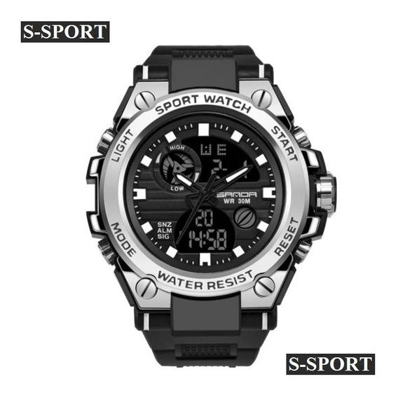 Relógio S - Shock Esport Homens Super Resistente Aprova D Água