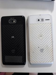 2 Motorola Razr I 3g Xt890 8gbquebrado Pra Retirada De Peças