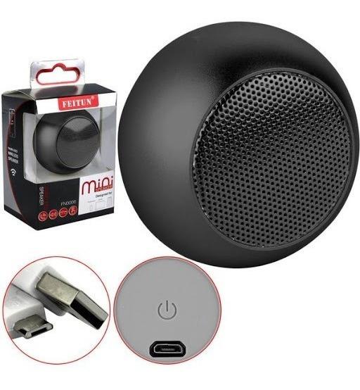 Caixa De Som Bluetooth Mini Speaker Amplificada 3w