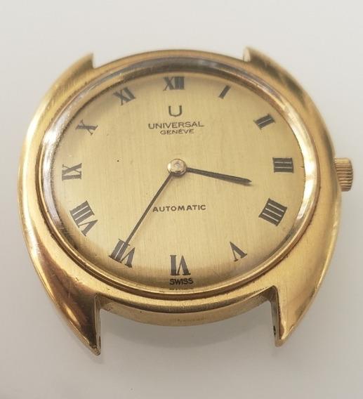 Relógio Antigo Universal Geneve Automático Micrototor