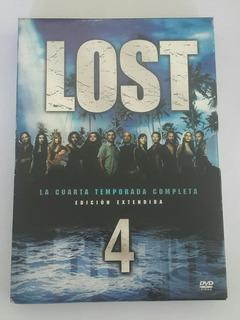 Box Set Lost - Cuarta Temporada Completa - Dvds Originales