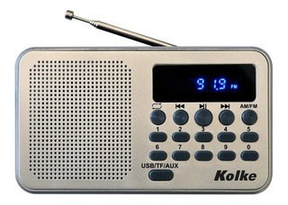 Radio Digital Am Fm Usb Portatil Kolke Kpr-364 Recargable