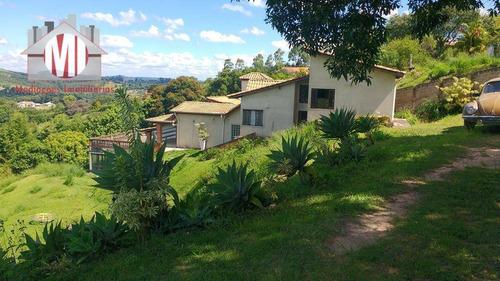 Chácara Com 05 Dormitórios E Linda Vista À Venda, 2900 M² Por R$ 550.000 - Zona Rural - Pinhalzinho/sp - Ch0238