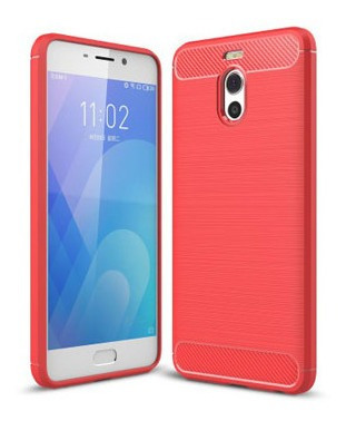 Protector Meizu Note M6 Color Rojo