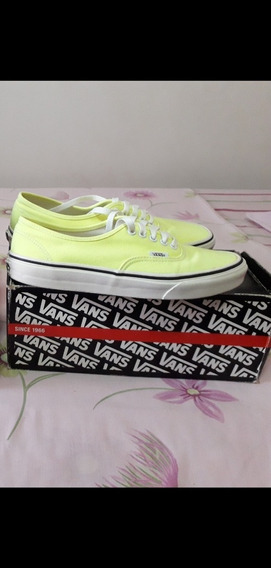 Vans Originales Talla 40 Color Neón