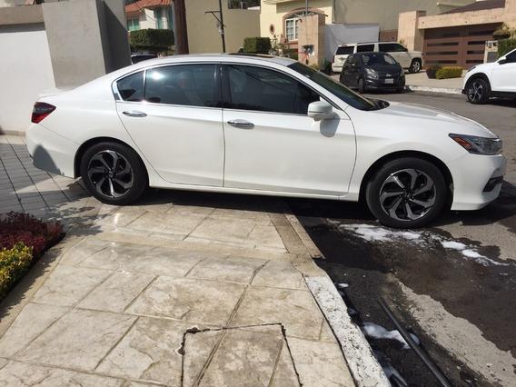 Honda Accord 2016 Piel Exl V6 3.5 L