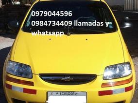 Vendo Taxi Con Puesto Chevrolet Aveo Family