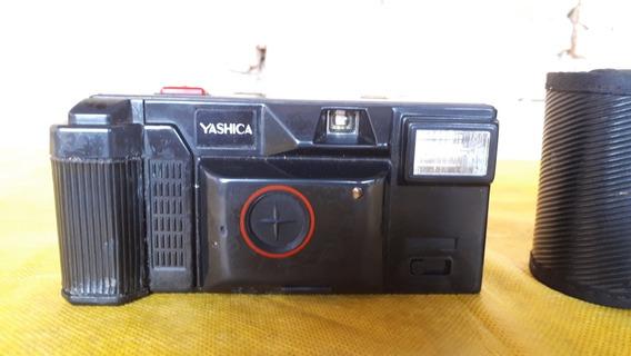 Camera Maquina Fotografica Antiga Marca Yashica