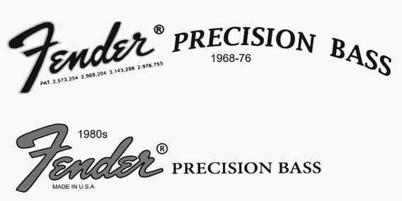 Decal Fender Bass