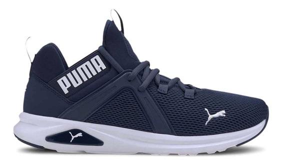 Zapatillas Puma Enzo 2 Running Azu/bla De Hombre