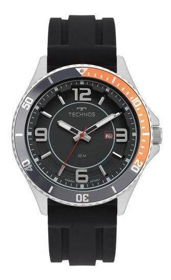Relógio Technos Masculino 2115msj/8p Racer Prata